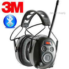 3M WorkTunes Wireless Hearing Protection Headphones FM Bluetooth 24dB 90542-3DC