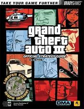 Grand Theft Auto 3 Official Strategy Guide (Video Game Books) by BradyGames PS 2