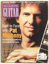 ACOUSTIC GUITAR MAGAZINE PAT METHENY CHARLIE HADEN STEVE EARLE VERY RARE 1997