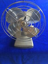 Vintage Sears Kenmore Desk Table Fan 1960s 1 Speed Retro Model 135.80030 WORKING