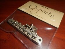 NEW - Q-PARTS AGED COLLECTION ABR-1 BRIDGE FOR '62 LES PAUL - DISTRESSED NICKEL
