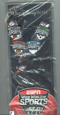 Disney ESPN Wide World of Sports Complex 4 Pin Set with Lanyard in Package