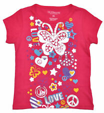 Ultimate Apparel Girls Coral Opponent Butterfly Top Size 4 MSRP $ 16
