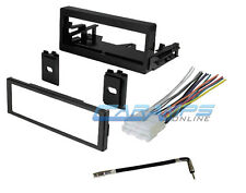 CAR TRUCK STEREO RADIO DASH INSTALLATION KIT W/ WIRING HARNESS & ANTENNA ADAPTER