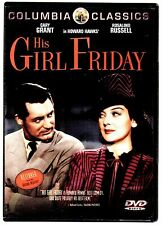 His Girl Friday DVD Columbia Classics Cary Grant Restored from Original Negative