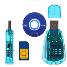 Hot SIM Card Reader Writer Copy Cloner Backup GSM CDMA For  PC + Driver CD