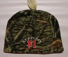 HELLS ANGELS CANAAN MAINE SUPPORT R&W BEENIE