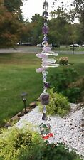 Spiritual Amethyst Suncatcher/Prism W/Swarovski Elements & Crystal Ball USA