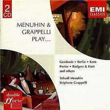 Y. MENUHIN / S. GRAPPELLI PLAY - GERSHWIN, BERLIN, KERN - (2) CD SET - EMI