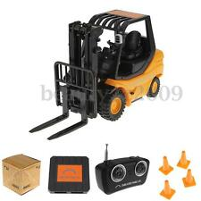 Mini RC Forklift Radio Remote Control Controlled Truck Car Lifting Arm Toy Gift