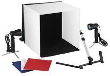 Portable photo Studio Iluminación Cubo Tienda Caja Suave Kit de fotografía telón de fondo