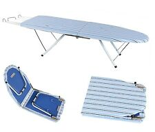 Portable Compact Foldable Folding Table Top Ironing Iron Board Travel Camping