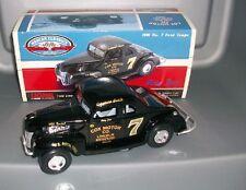 NASCAR  RAY FOX  #7 1940 COUPE COX MOTOR COMPANY 1/24 CAR WE SHIP GLOBALLY