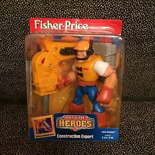 Fisher-Price Rescue Heroes - Construction Expert - New In Box