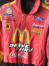 Vintage Size 3XL Jeff Hamilton NASCAR Bill Elliott 1994 Leather Racing Jacket