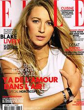 ELLE France 17 June 2016 BLAKE LIVELY Raica Oliveira by Serge Leblon @NEW@