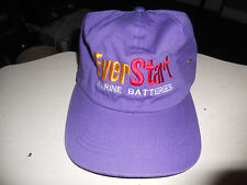 ** Nice , EverStart Marine Batteries purple strapback hat / cap ** L@@K!