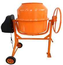 NEW 160L LITRE 650W 240V PORTABLE ELECTRIC CONCRETE CEMENT MIXER MORTAR PLASTER