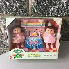 VINTAGE G2 Cabbage Patch Kids  Happy Birthday Playset Rare# NIB