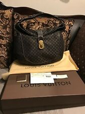 Authentic Louis Vuitton Romance Idylle Fusain Monogram