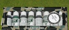 Vallejo Alemán Panzer Aces Modelo Color 8 Set Botella 5 70128