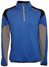 Lightning Golf Blue & Grey Jacket Size 4XL - Windshirt Windbreaker Showerproof