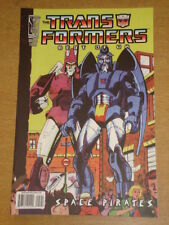TRANSFORMERS BEST OF UK SPACE PIRATES #5 RI RETRO COVER 2008 IDW
