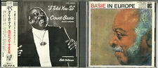 Count Basie - I Told You So & Basie In Europe - Japanese Issue