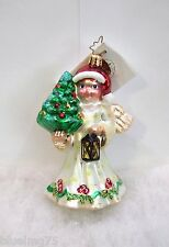 Christopher Radko Ornament Angel Glow #1010969 NEW WITH TAG (R34)