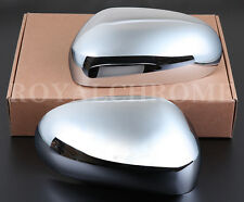 NEW Chrome DOOR WING MIRROR Covers Trims for Jaguar X Type X400 2001 to 2007