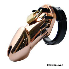 Designer Gold Edition Man Chastity Cage lavish and luxurious Standard Size A283