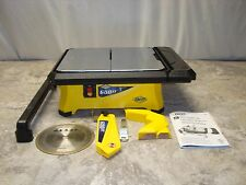 QEP 3/4 HP Wet Tile Saw with 7 in. Diamond Blade #7