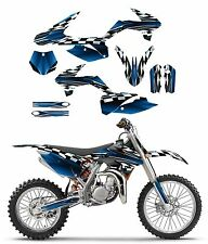 2013- 2017 KTM SX 85 graphics sticker kit #2500 blue