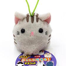 Puchimaru Nyanko-tai Kitty Cat Plush Phone Strap Charm Neko Amuse San-x Kawaii H