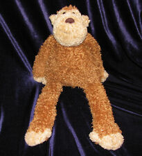 "Jellycat Marvin Monkey Junglie Bunglie 18"" 19"" Brown Plush Stuffed Animal Toy"