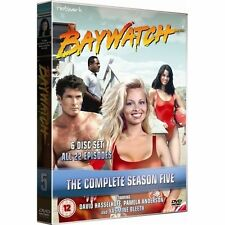 BAYWATCH the complete fifth season series 5. David Hasselhoff. 6 discs. New DVD.