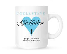 MY GODFATHER PERSONALISED CERAMIC MUG GODPARENT MUG GIFT