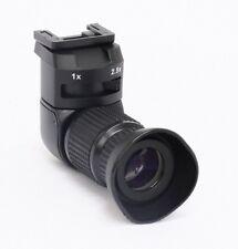 Profi ángulo buscador 2,5x para Canon EOS, Nikon, fuji, Pentax, Minolta y Olympus