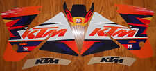 NSTYLE TEAM KTM DUNGEY GRAPHICS KIT EXC SX 125 200 250 300 ( 1998 1999 2000 )
