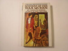 Dana Girls #4, Mystery of the Wax Queen, White Spine Picture Cover