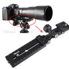 Telephoto Lens Bracket Long-Focus Holder Camera Quick Release Plate for Ballhead