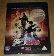 Spy Kids 4 All The Time In The World 3D + 2D blu-ray NEW SEALED Jessica Alba