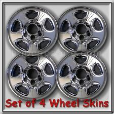2005-2006 Chevy, Chevrolet Express Van Chrome Wheel Skins, Hubcaps 16""