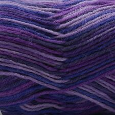 West Yorkshire Spinners-Aire Valley DK-75% Wool Blend Knitting Yarn- Purple Haze