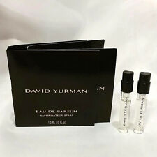 (2x) David Yurman 1.5ml - 0.05oz Eau De Parfum SPRAY SAMPLE VIAL Women (C80