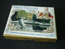 """Kartenspiel """" Maria Theresia """" alt, gebraucht, komplett von Piatnik,  Wien"""