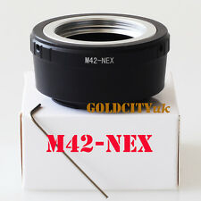 M42 to Sony E Mount Screw Lens Adapter for NEX 5 NEX-7 NEX-C3 NEX-5N NEX-VG10