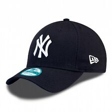 New York Yankees MLB Baseball New Era 9Forty Cap Kappe   blau  / weisses Logo