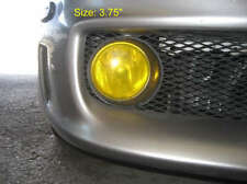 "3.75"" Fog light overlay film tint wrap yellow hid cover"