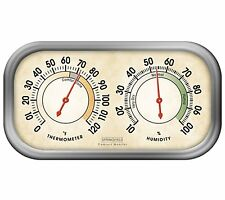 Springfield Precision 90113-1 Hygrometer & Thermometer Tabletop or Wall Mount NE